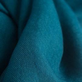 Petroleumsgrønt cashmere tørklæde