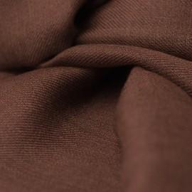 Sortbrunt dobbelttrådet twill pashmina sjal