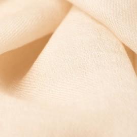 Beige dobbelttrådet twill pashmina sjal