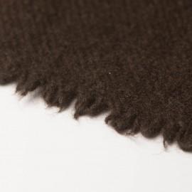 Stort naturbrunt yak tørklæde
