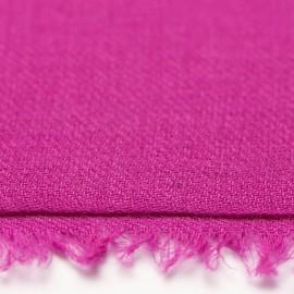 Violet dobbelttrådet twill pashmina tørklæde