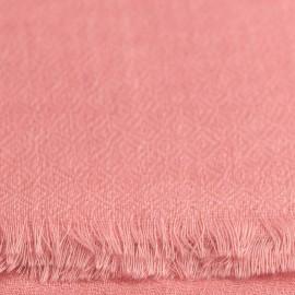 Rosa diamant vævet pashmina sjal