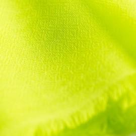 Limegrønt diamant vævet pashmina sjal
