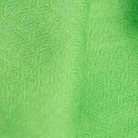 Græsgrønt diamant vævet pashmina sjal