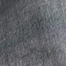 Ternet silke/cashmere sjal i blå farver