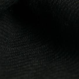 Sort twill vævet pashmina sjal