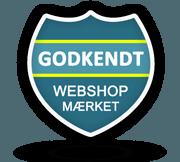 Godkendt af Webshop Mærket