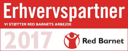 Vi støtter Red Barnet