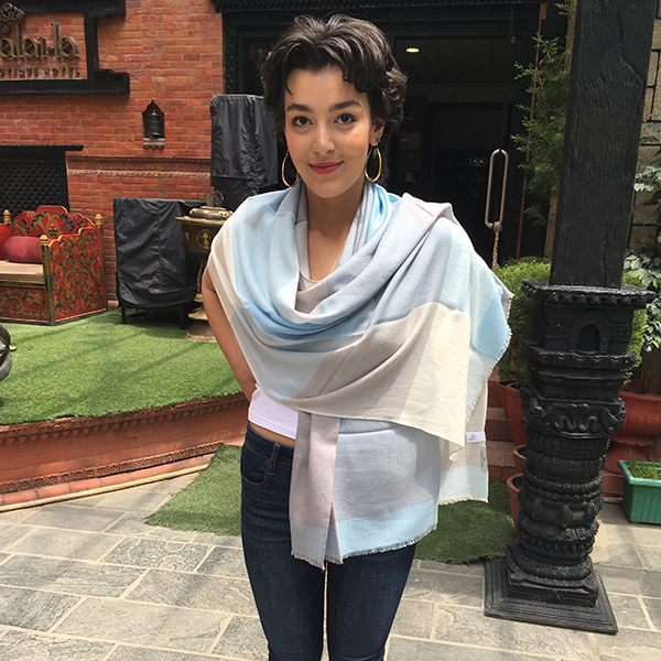 cashmere sjal