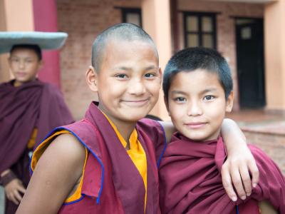 Buddhistiske munke