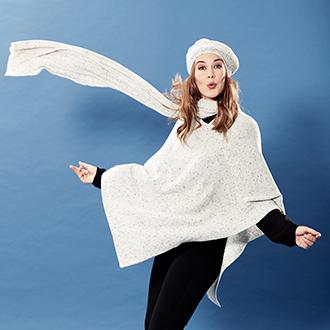 Tørklæder, huer og handsker til efterår og vinter